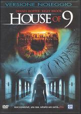 HOUSE OF 9 - DVD (USATO EX RENTAL) - DENNIS HOPPER