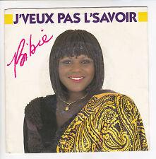 """BIBIE Vinyl 45 tours SP 7"""" J'VEUX PAS L'SAVOIR CBS 7118 STEREO  F Reduit RARE"""