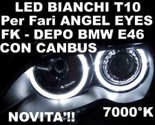 CANBUS LED T10 W5W BIANCHI x ANGEL EYES BMW E46 DEPO FK