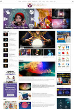 Established New Age Psychic Tarot Astrology Witchcraft Website For Sale