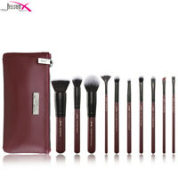 Jessup Makeup Brushes Set Face Blush Eyeshadow Blending Cosmetic Tool +  Bag