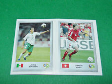 N°61 BORGETTI 121 VOGEL PANINI FOOTBALL GERMANY 2006 MINI-STICKERS