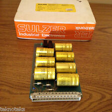 SULZER ELECTRONIC 112.016.639.200   CAPACITOR BOARD