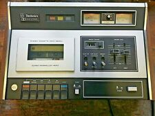 VINTAGE MID 1970`s  TECHNICS CASSETTE STEREO DECK DOLBY SYSTEM RS263AUSD