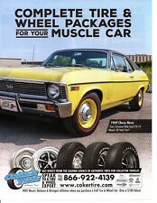 1969 CHEVROLET NOVA SS 350 ~ GREAT TIRE AD