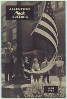 WWII June 1945 Allentown Mack Bulldog Truck Factory Employee Newsletter Magazine