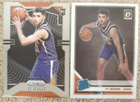 TY JEROME SUNS 2-CARD LOT 2019-20  DONRUSS RATED ROOKIE and PRIZM BASE