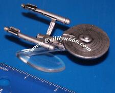 Star Trek Micro Machines USS ENTERPRISE 1701 Pewter Colored PLastic