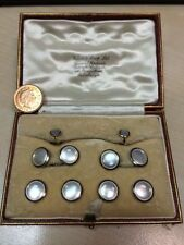 Mother of Pearl 18 Carat Cufflinks for Men