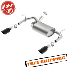 Borla 140460 Stainless Steel Cat-Back Exhaust System for Wrangler 3.6L AT//MT 4WD 2-Door