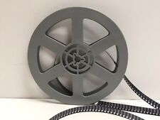 """Vintage 8mm 5"""" 200ft. Gray Plastic Film Reel Made in USA"""