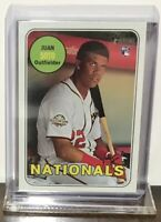 2018 JUAN SOTO WASHINGTON NATIONALS TOPPS HERITAGE ROOKIE #502 RC