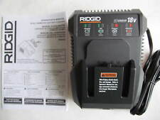 Ridgid R86092 18 Volt 18V Dual Chemistry Lithium Ion Battery Charger NEW