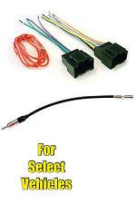Car Stereo Wire + Antenna Adapter Set for select GM Malibu HHR Cobalt Aura Sky