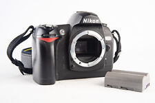 Nikon D70 6.1MP Digital SLR Camera Body with Battery and Strap TESTED V116
