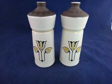 Denby England KIMBERLY Salt & Pepper Shakers ~MINT ~
