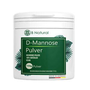 D Mannose Pulver 150g - Rein & naturbelassen Ohne Zusätze & Vegan