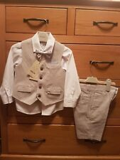 Boys Lee 4 Piece Linen Suit With Shorts 5 Years