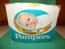 VINTAGE PAMPERS 3-5 KG (6-11 lbs) DIAPERS EMPTY BOX ULTRA RARE!