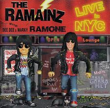 THE RAMAINZ (WITH DEE DEE & MARKY RAMONE) : LIVE IN NYC / CD
