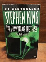 THE DRAWING OF THE THREE: The Dark Tower ll by Stephen King 1990 Paperback VGC