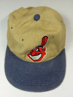 MLB Chief Wahoo Baseball Hat Cap Cleveland Indians Adjustable One Size Fits All