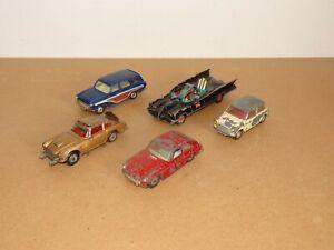 Collection of 5 x Vintage Corgi Toys Cars  - Job Lot