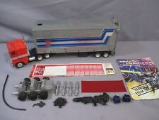 Transformers G1 OPTIMUS PRIME BLOATED FIST GRAY ROLLER Complete Vintage 1984