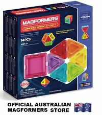 Genuine MAGFORMERS Window 14 Basic Set - 3D Magnetic construction