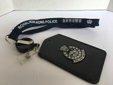 Neckstrap #1A- Royal Hong Kong Police Neckstrap & Vertical cardholder w/badge