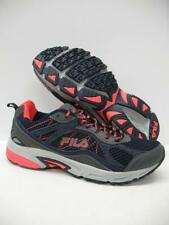FILA Overstitch 8 Trail Running Training Athletic Shoes Sneakers Blue Womens 11