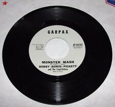 BOBBY PICKETT & The Crypt-Kickers / Monster Mash & Monsters Mash Party GARPAX 45