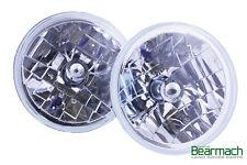 "Land Rover Defender 7"" Crystal Clear H4 Halogen Headlight Kit-Bearmach BA 070 C"