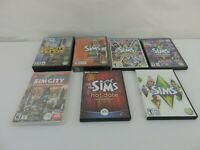 The Sims 2, 3 PC GAMES 7 Expansions Bundle Lot Ambitions HOT DATE Late Night +