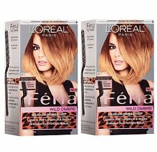 L'Oreal Feria Wild Ombre Effect Hair Color, o70 Dark Blonde-Light Brown (2 Pack)