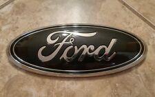 """2011-2014 Ford Edge Grill emblem. 9"""" TUXEDO BLACK"""