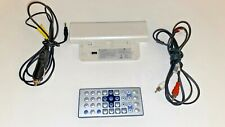 Zenith DVD Remote & Battery Pak DPB125 For DVP615 Portable DVD Player + Cables