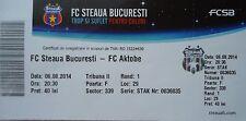 TICKET UEFA CL 2014/15 Steaua Bukarest - FC Aktobe