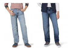 Wrangler Boys' Taper Fit Adjustable Waist Jeans Flex for Comfort