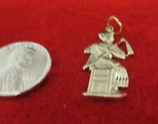 14KT GOLD EP EGYPTIAN PHAROAH DIAMOND CUT CHARM-1545