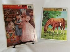 Vintage 1988 Golden Wizard of Oz & 83 Colt Tray Puzzles Children's toys & games