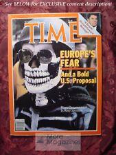 TIME Magazine November 30 1981 11/30/81 Nov 81 EUROPE NUCLEAR DISARMAMENT