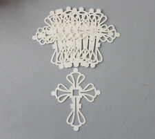 Stampin' Up! CS/Sizzix Die Very Vanilla Cross Die Cuts 12 All Occasion Religious