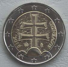 2 Euro Kursmünze Slowakei 2015 unz