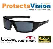 Bolle JET Smoke Lens UV Protection Safety Sunglasses Sunnies