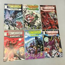 Tomorrow Knights 1-6 Complete Set 1 2 3 4 5 6 Epic Comics 1990 (TK02)