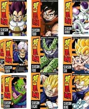 DRAGON BALL Z - COMPLETE SEASON 1 2 3 4 5 6 7 8 9 -DVD - UK Compatible - sealed