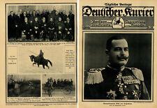 Generalleutnant Wild v.Hohenborn neuer Kriegsminister Deutschlands  c.1915