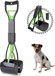 Pooper Scooper Pets For Dogs Cats With Long Handle Foldable Dog Poop Waste Pick