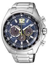 Relojes de pulsera solares Chrono de acero inoxidable